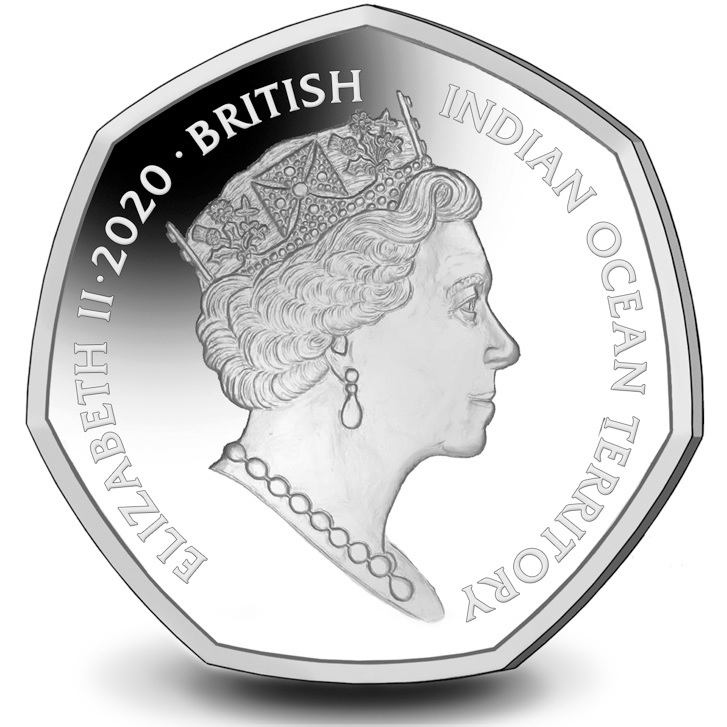 IO 50 Pence 2020 PM
