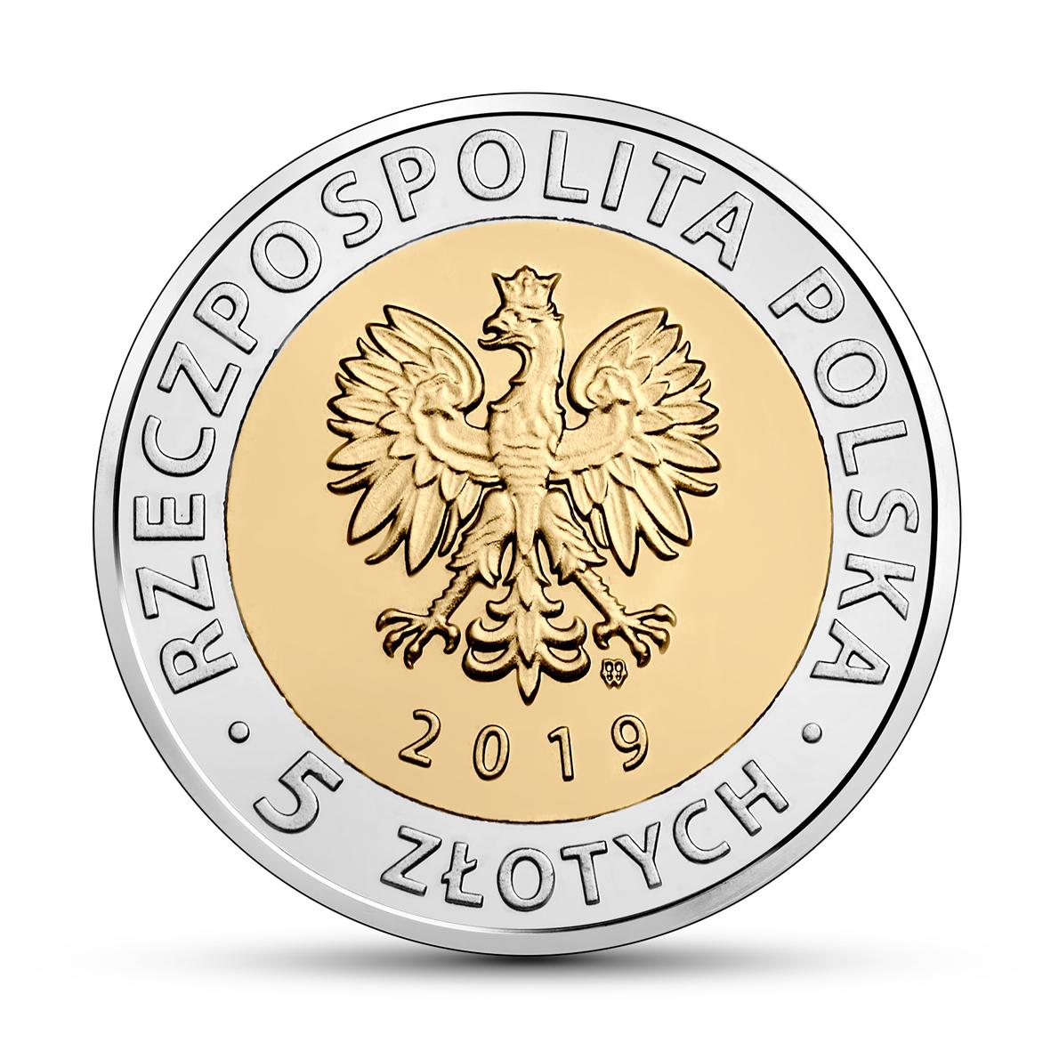 PL 5 Zloty 2019 MW