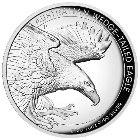 AU 10 Dollars 2020 P