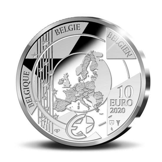 BE 10 Euro 2020 Staff of Mercury
