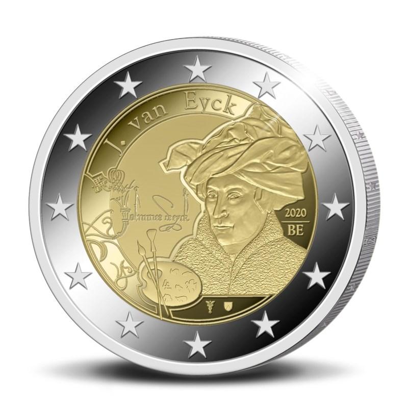 BE 2 Euro 2020 Staff of Mercury