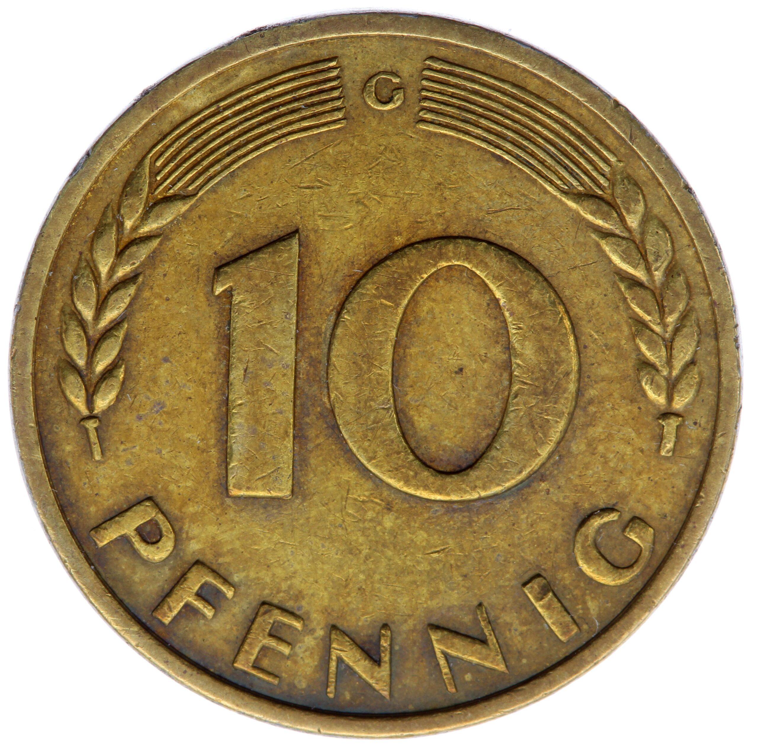 DE 10 Pfennig 1949 G