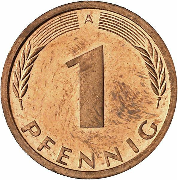 DE 1 Pfennig 1996 A