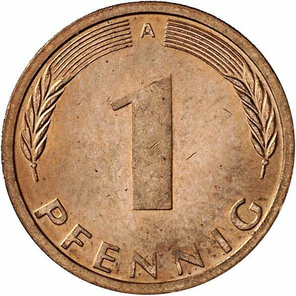 DE 1 Pfennig 1995 A