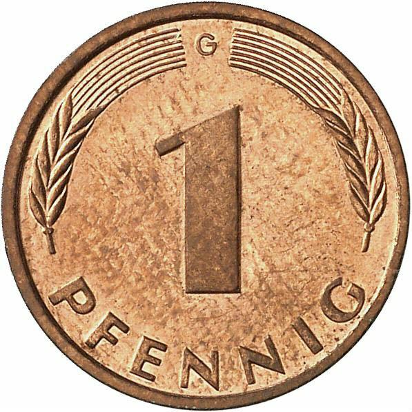 DE 1 Pfennig 1997 G