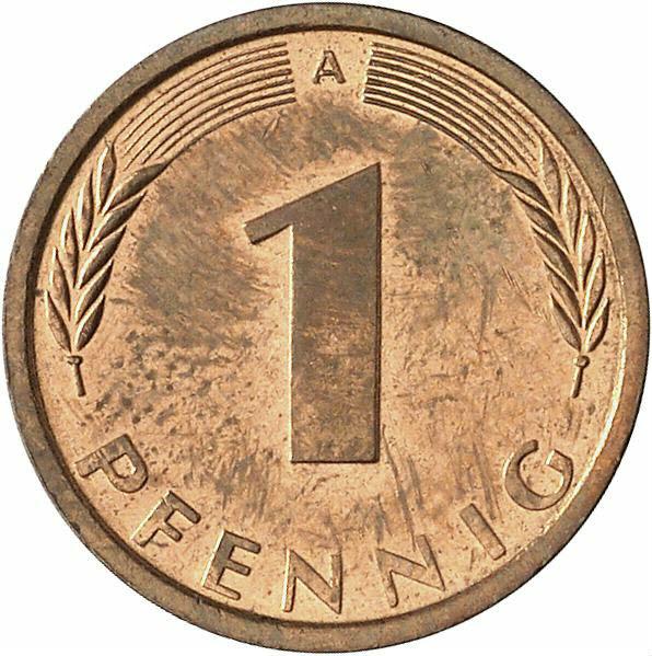 DE 1 Pfennig 1991 A