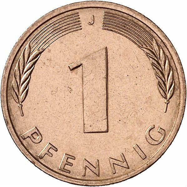 DE 1 Pfennig 1981 J