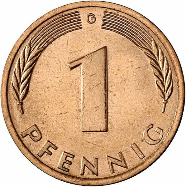 DE 1 Pfennig 1978 G