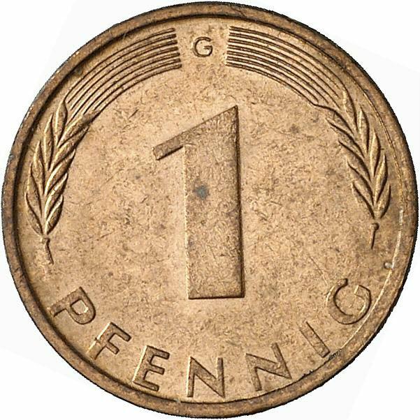 DE 1 Pfennig 1971 G