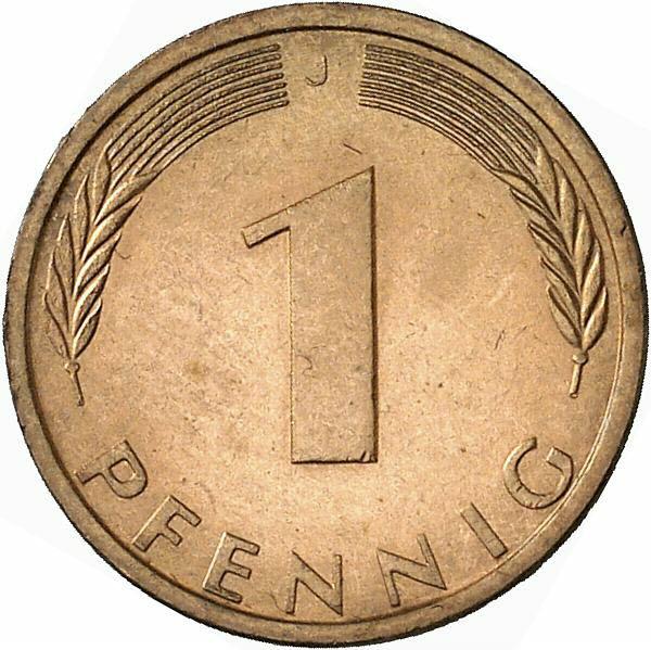 DE 1 Pfennig 1971 J