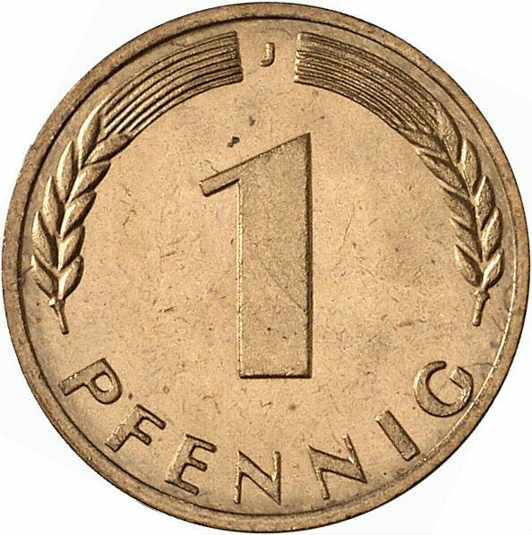 DE 1 Pfennig 1970 G