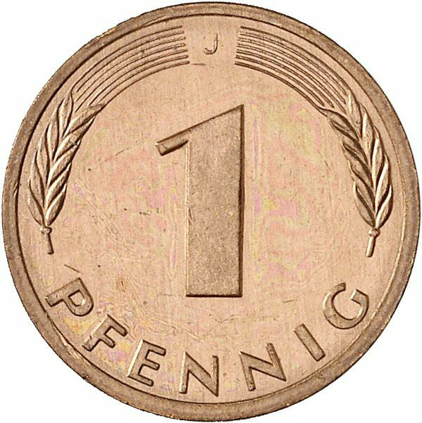 DE 1 Pfennig 1978 J
