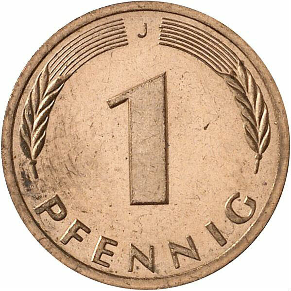 DE 1 Pfennig 1984 J