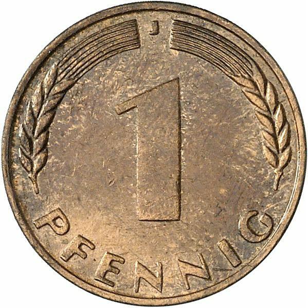 DE 1 Pfennig 1950 J