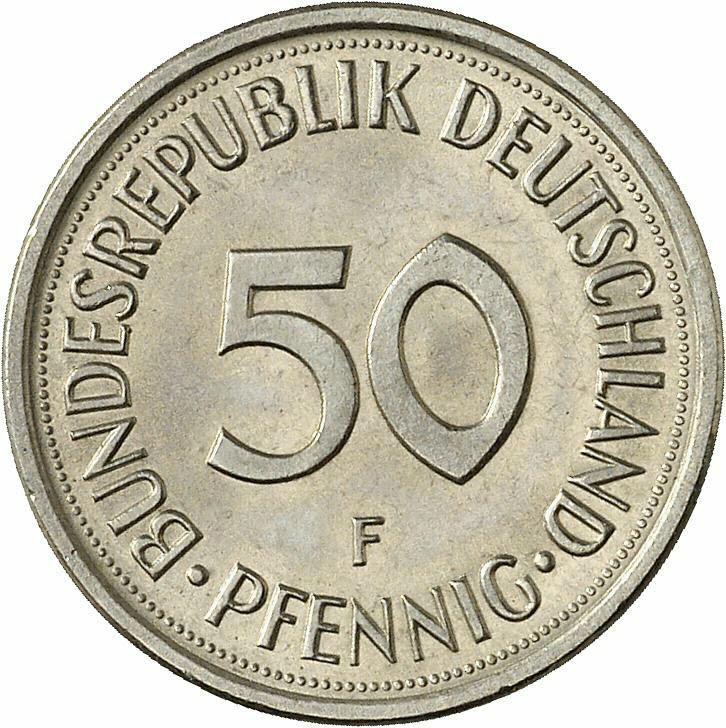 DE 50  Pfennig 2000 F