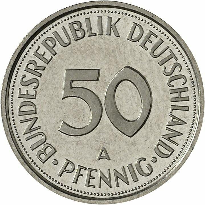 DE 50  Pfennig 1998 A