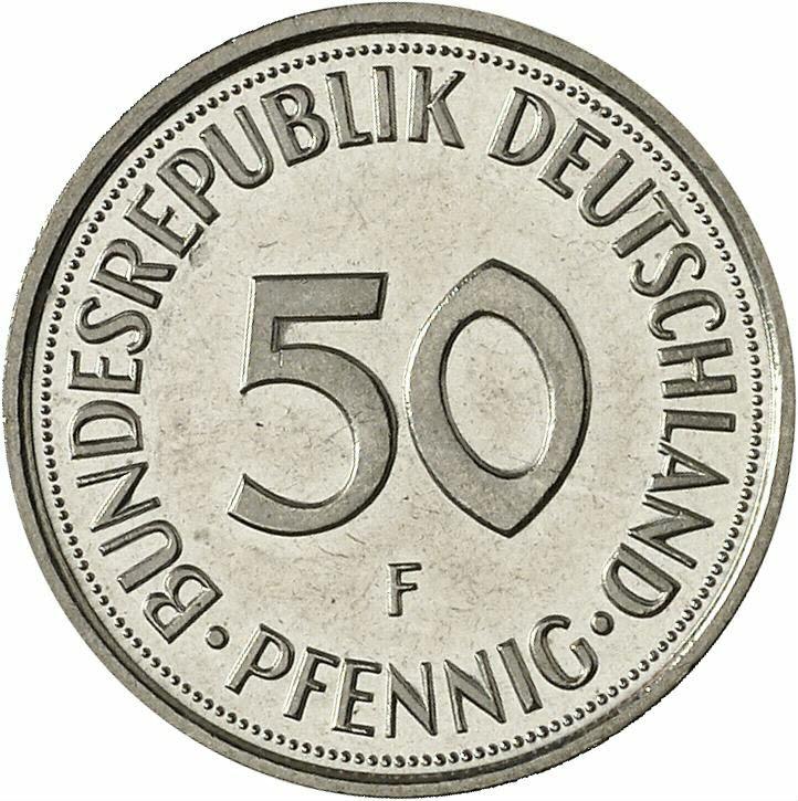 DE 50  Pfennig 1998 F
