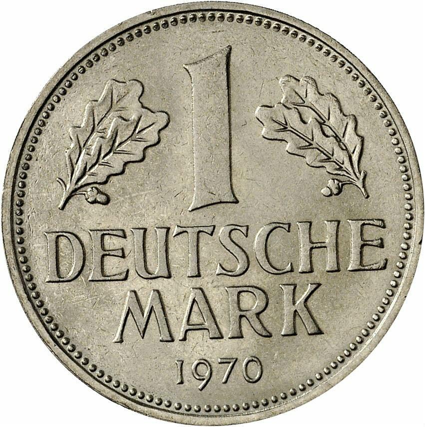DE 1 Deutsche Mark 1970 F