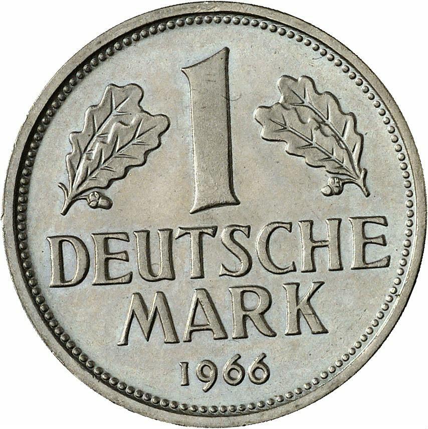 DE 1 Deutsche Mark 1966 G