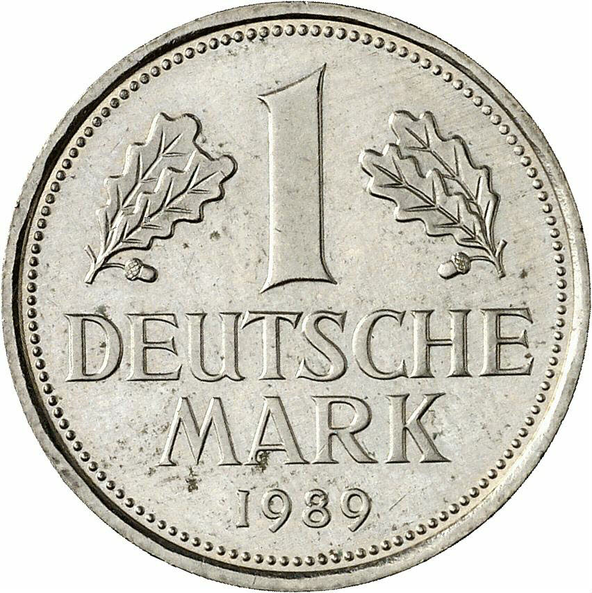 DE 1 Deutsche Mark 1989 G