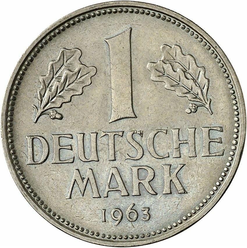 DE 1 Deutsche Mark 1963 D