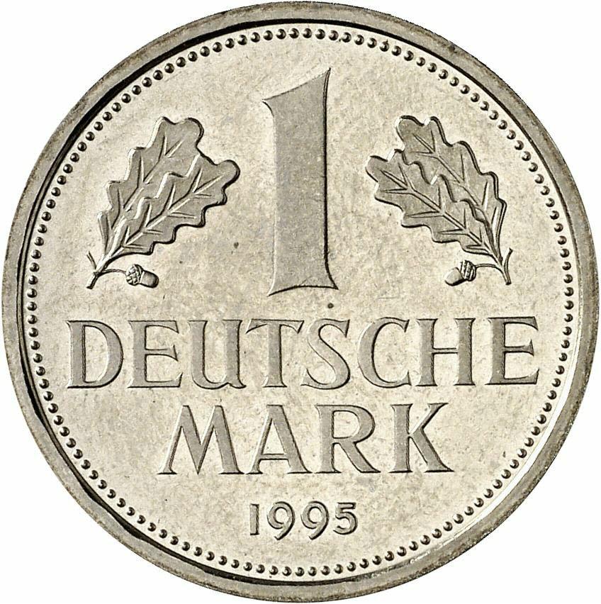 DE 1 Deutsche Mark 1999 A