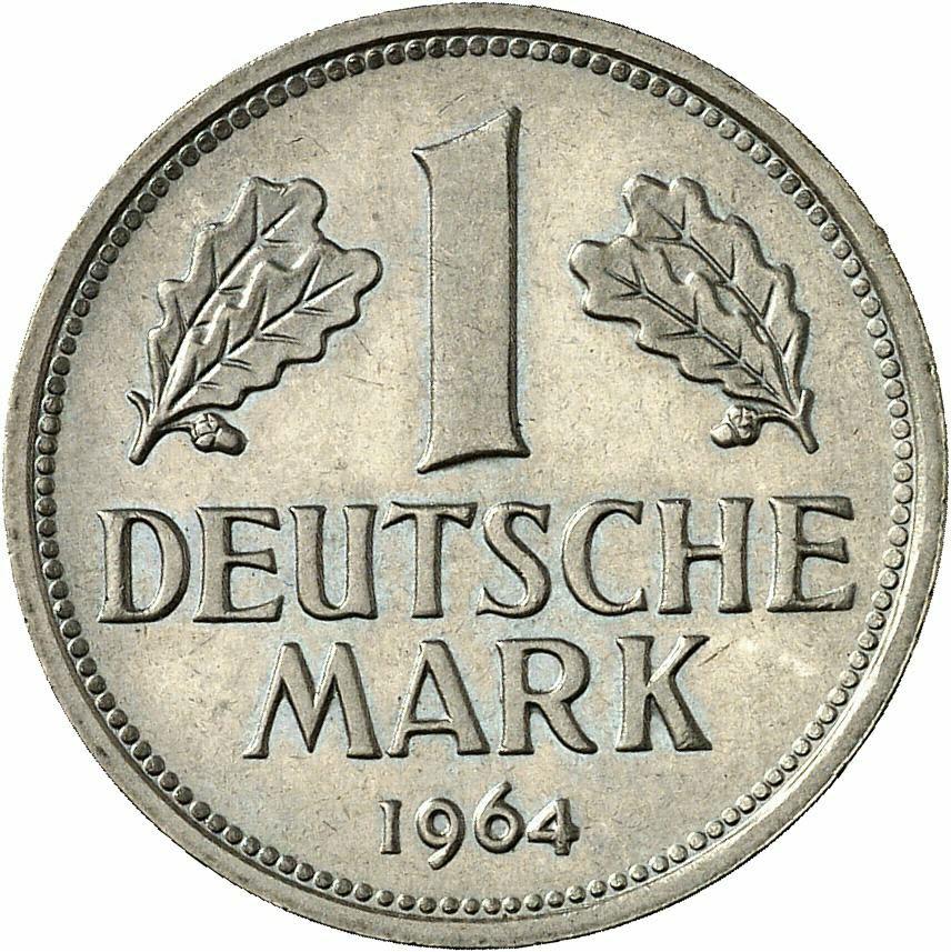 DE 1 Deutsche Mark 1964 J