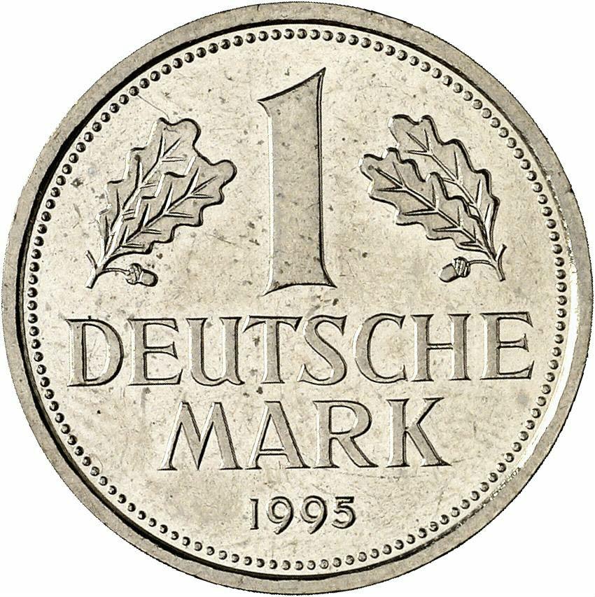 DE 1 Deutsche Mark 1995 D