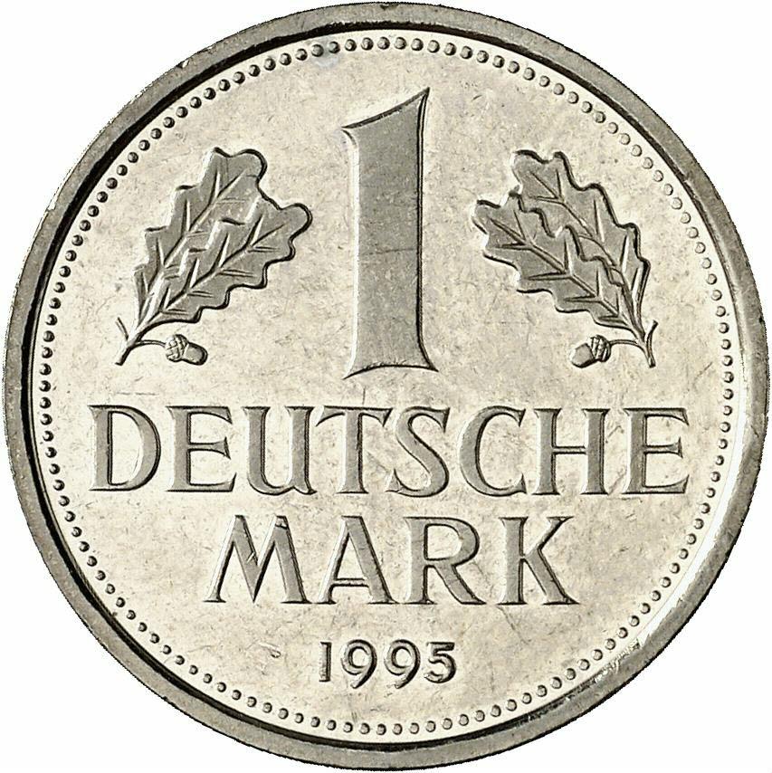DE 1 Deutsche Mark 1995 F