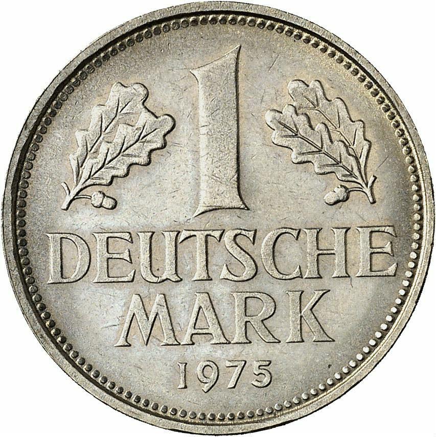 DE 1 Deutsche Mark 1975 F