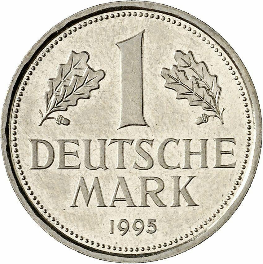 DE 1 Deutsche Mark 1995 G