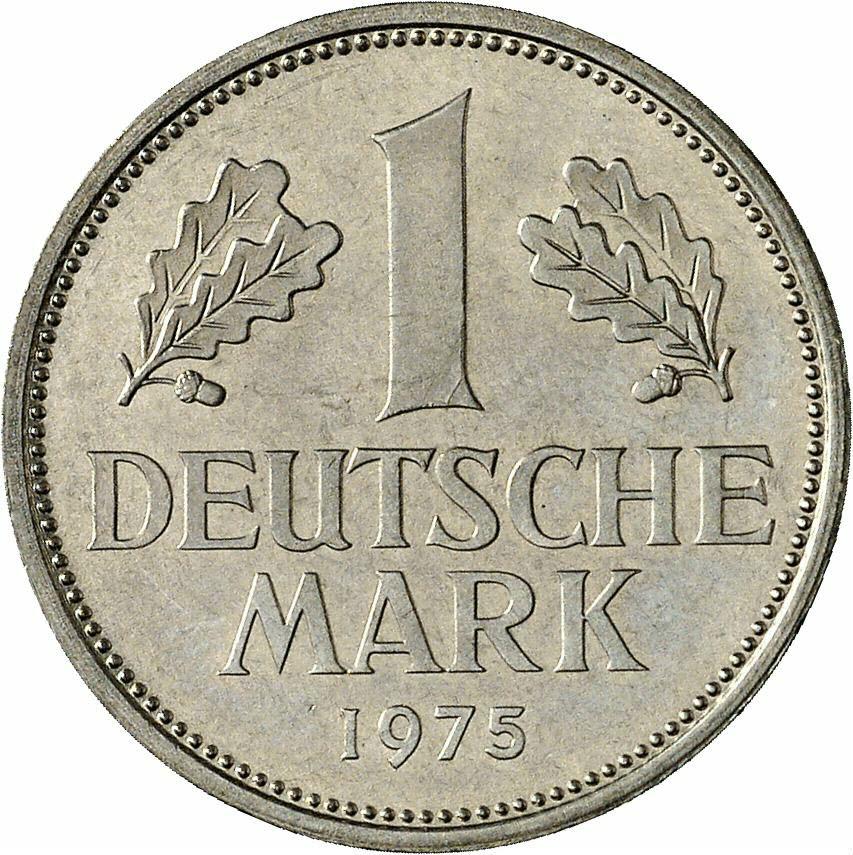 DE 1 Deutsche Mark 1975 G