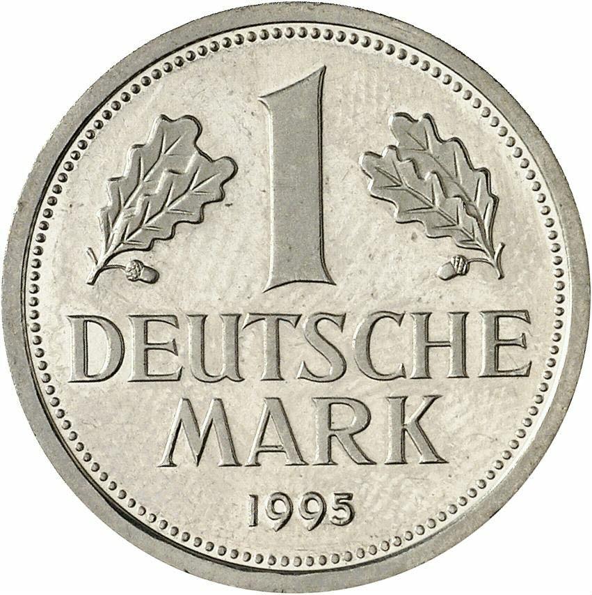 DE 1 Deutsche Mark 1995 J