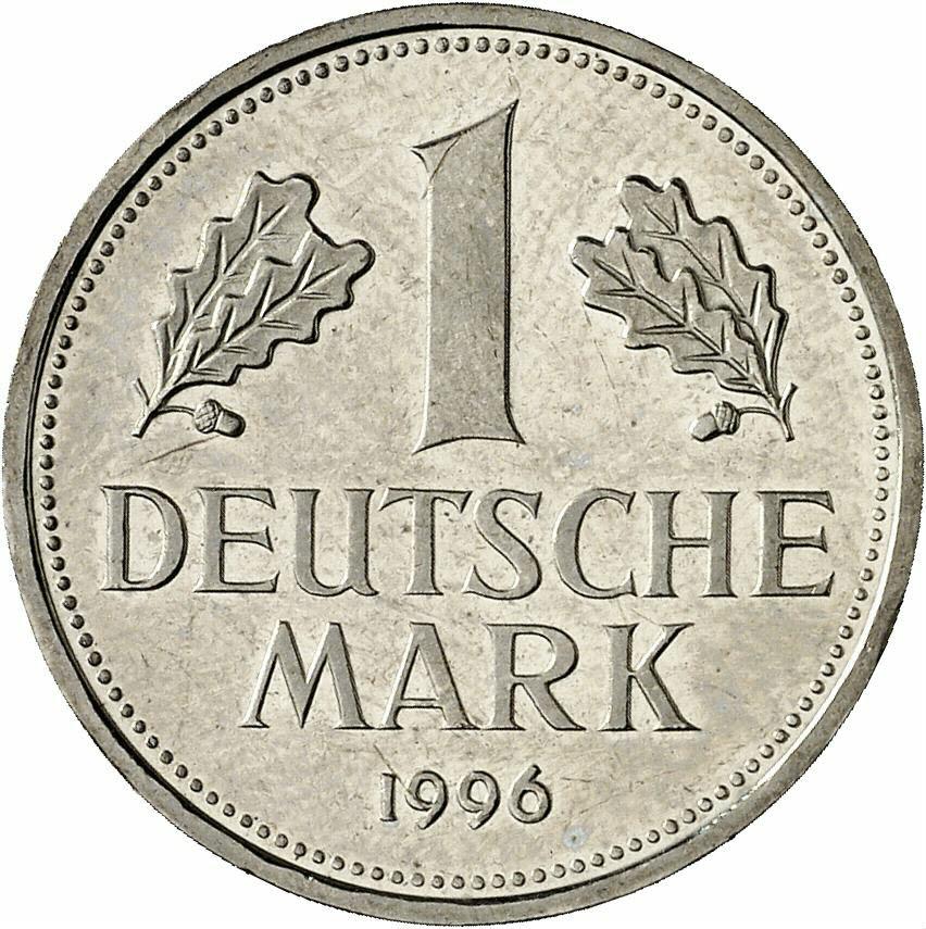 DE 1 Deutsche Mark 1996 A