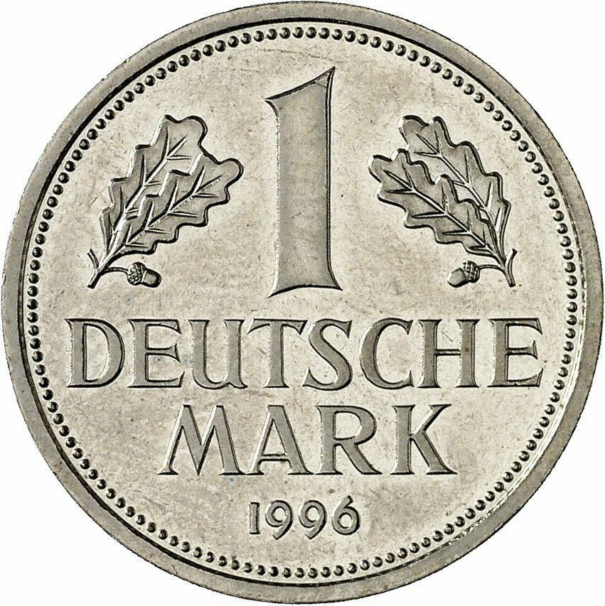 DE 1 Deutsche Mark 2001 D