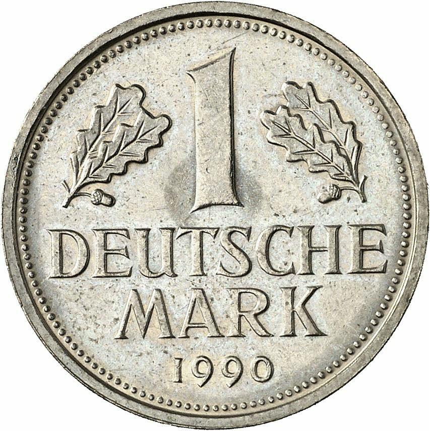 DE 1 Deutsche Mark 1990 A