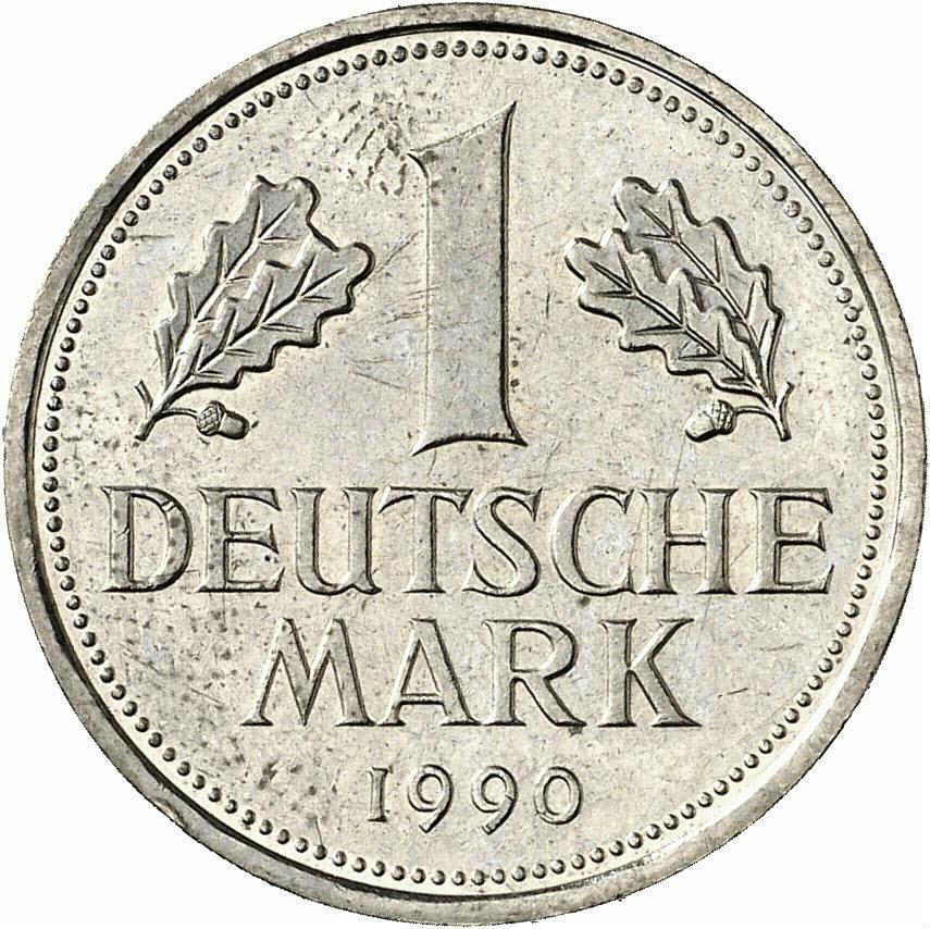 DE 1 Deutsche Mark 1990 D