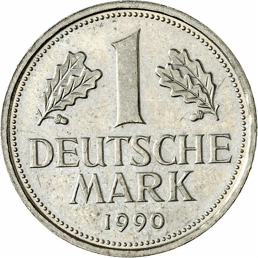DE 1 Deutsche Mark 1990 F