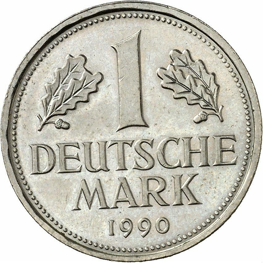 DE 1 Deutsche Mark 1990 G