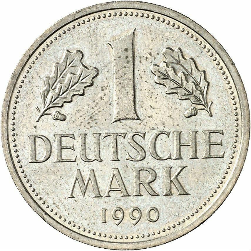 DE 1 Deutsche Mark 1990 J