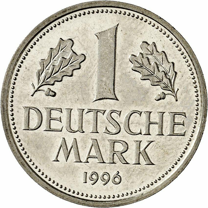 DE 1 Deutsche Mark 1996 G