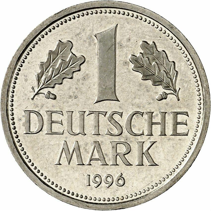 DE 1 Deutsche Mark 1996 J