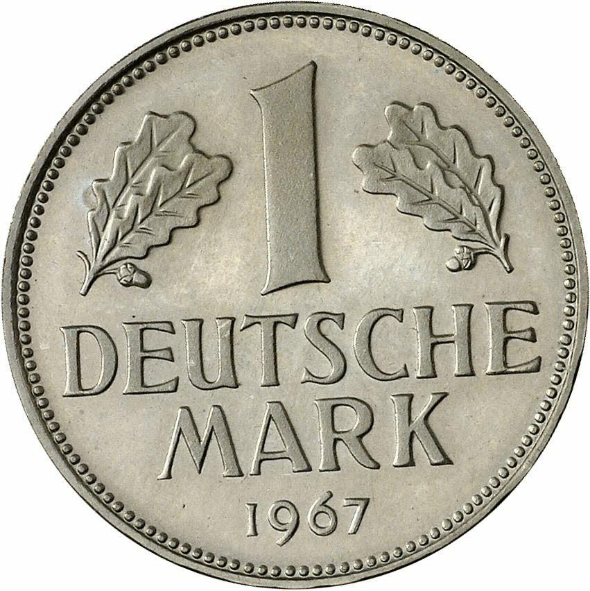 DE 1 Deutsche Mark 1967 G