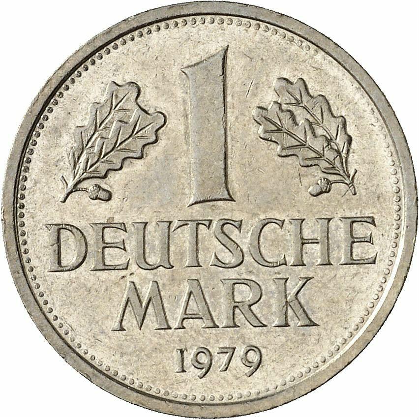 DE 1 Deutsche Mark 1979 J