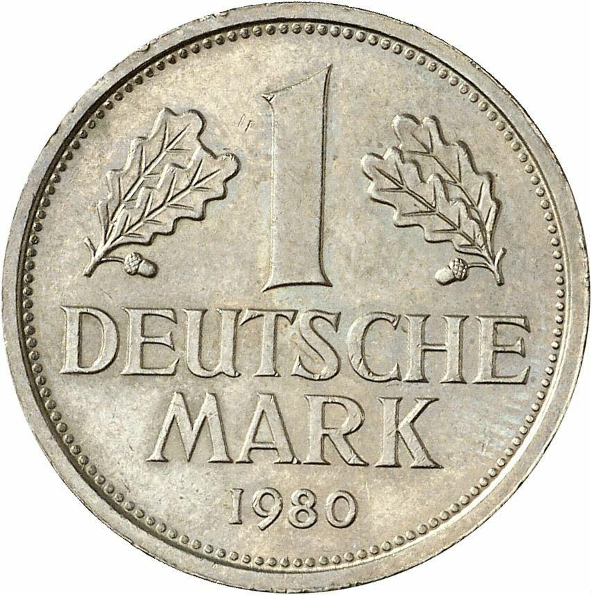 DE 1 Deutsche Mark 1980 F
