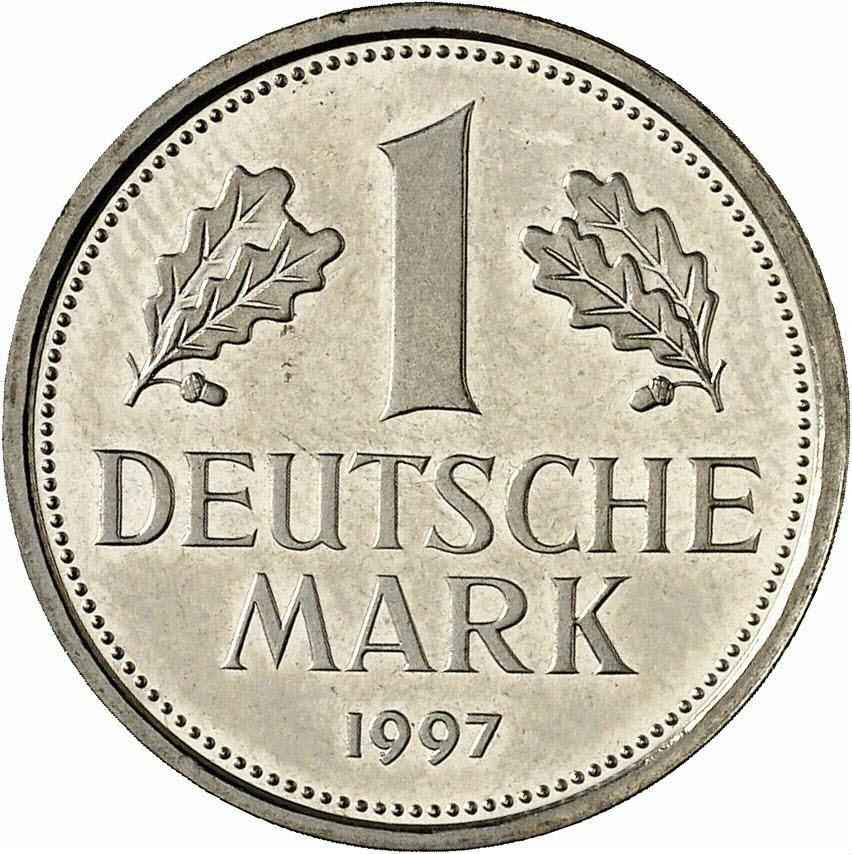 DE 1 Deutsche Mark 1997 A