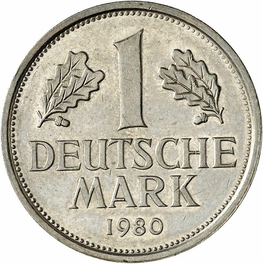 DE 1 Deutsche Mark 1980 G
