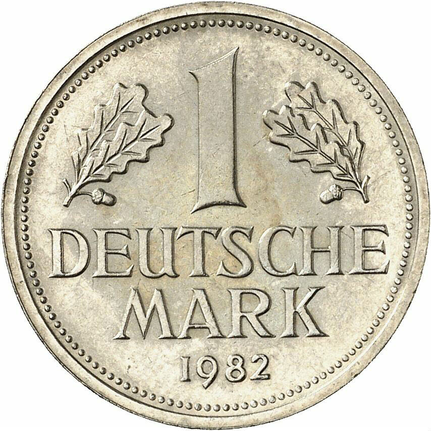 DE 1 Deutsche Mark 1982 D