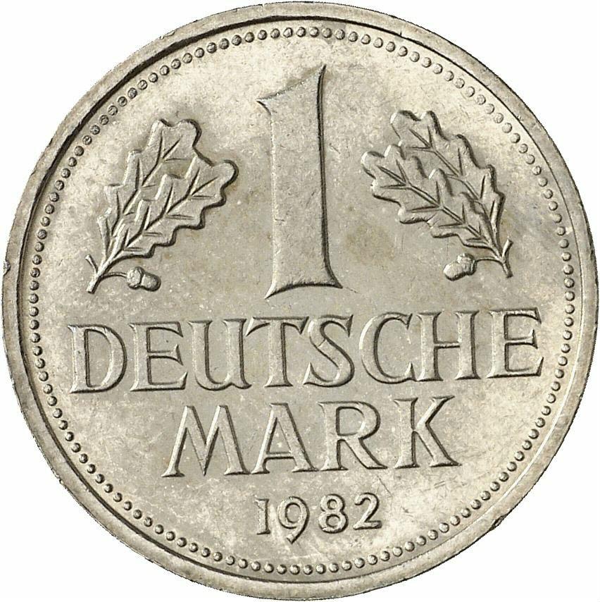 DE 1 Deutsche Mark 1982 F