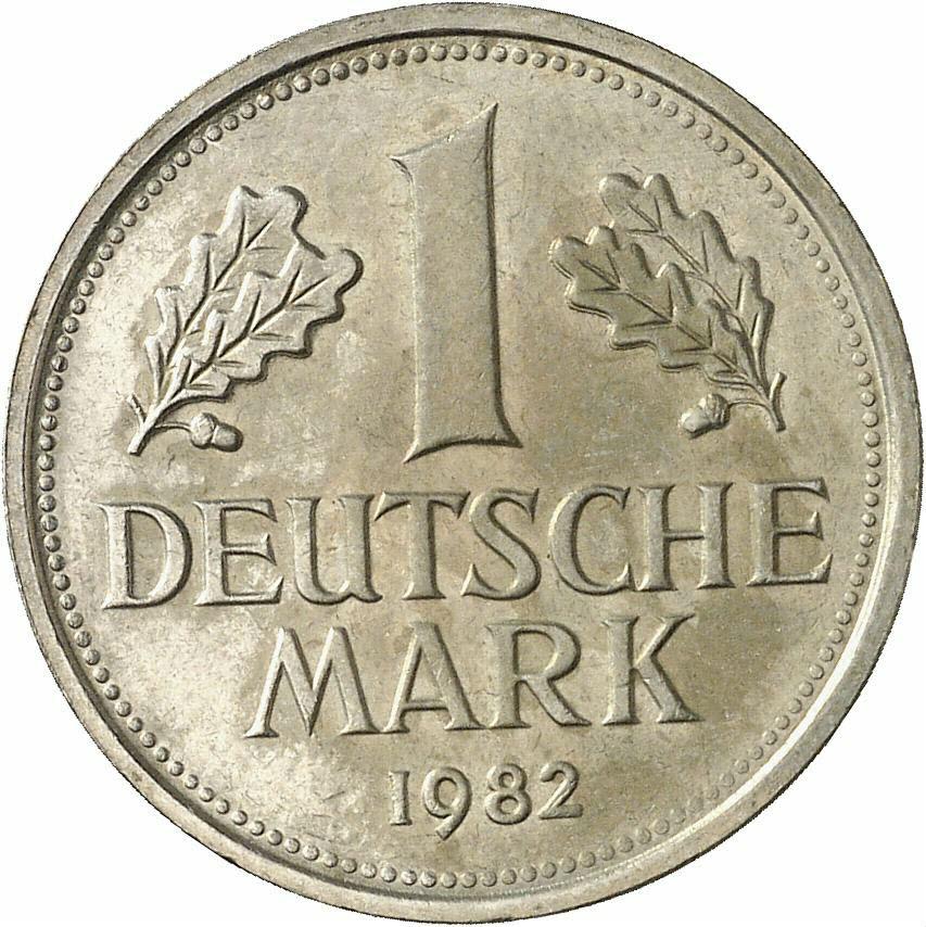 DE 1 Deutsche Mark 1982 G